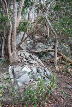 H240114 1150 所々に岩もある