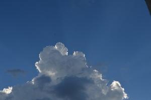 入道雲が御立派